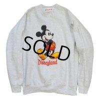 【90's】ビンテージ USA製【ウォルトディズニー】ミッキーマウス【スウェット】【サイズL】