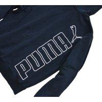 【PUMA】プーマ【フルジップパーカー】黒【サイズS】