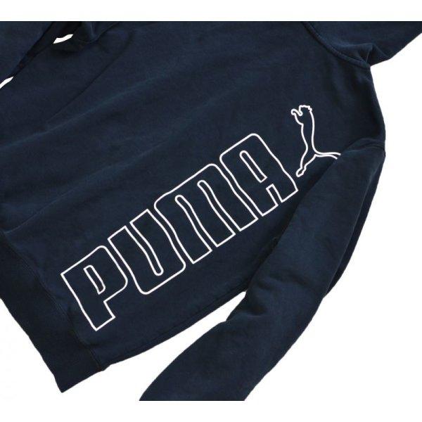 画像1: 【PUMA】プーマ【フルジップパーカー】黒【サイズS】