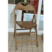 ~40's【ビンテージ】ステンシル【フォールディングチェア】【折りたたみ椅子】
