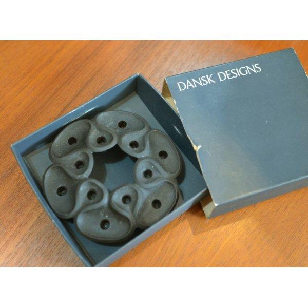画像1: 箱付きビンテージ デンマーク製【DANSK】【ダンスク】キャンドルホルダー