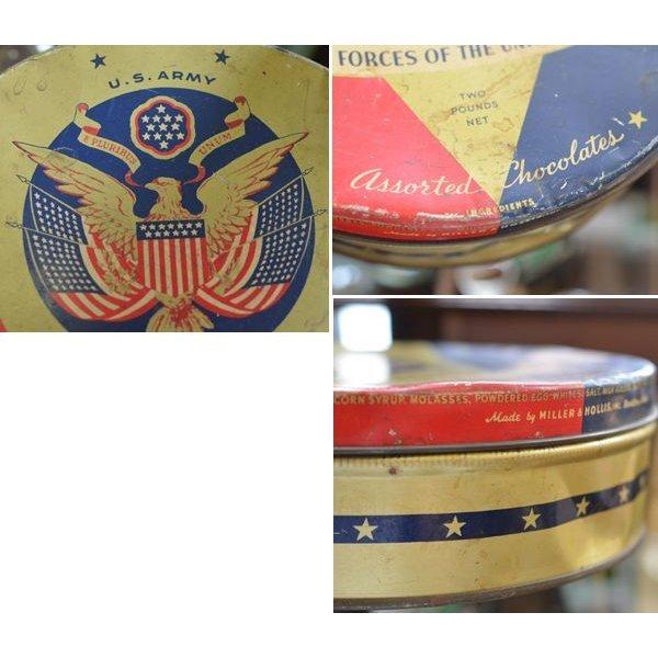 画像2: 40's【ビンテージ】【U.S.ARMY】【米軍】【チョコレート缶】【chocolates tin】