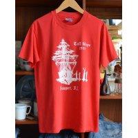 90's【ビンテージ】【hane's】へインズ  赤 サイズM【Tシャツ】