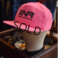 USA製【ビンテージ】【ENR】【English News-Record】ピンク【ベースボールキャップ】