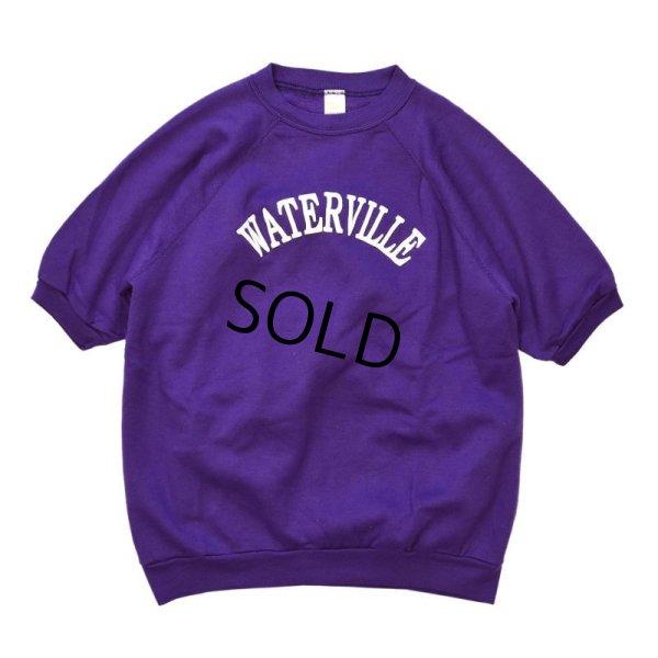 画像1: 【USA製】【ビンテージ】【紫】【半袖スウェット】【WATERVILLE】【サイズXL】