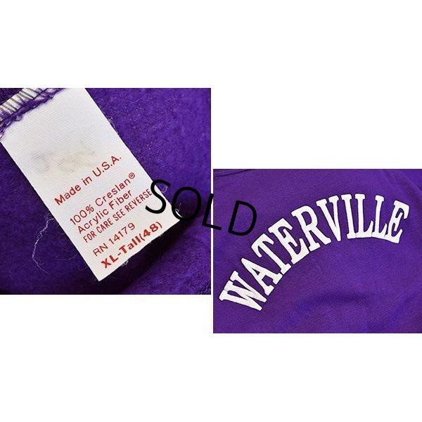画像2: 【USA製】【ビンテージ】【紫】【半袖スウェット】【WATERVILLE】【サイズXL】
