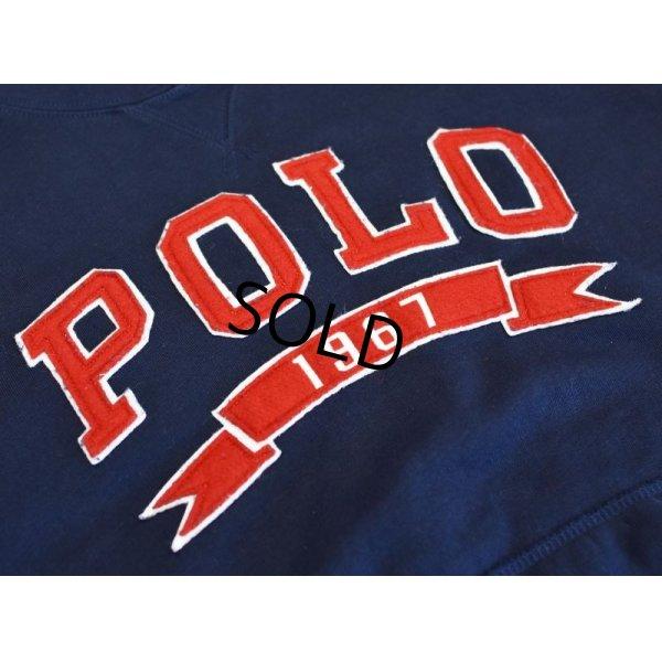 画像3: 【ラルフローレン】【POLO ralph lauren】【紺】ロゴ【スウェットパーカー】サイズL