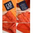 画像2: 【ビンテージ】【GAP】オールドギャップ【オレンジ】【ナイロン】【アノラックパーカー】【サイズL】<br> (2)