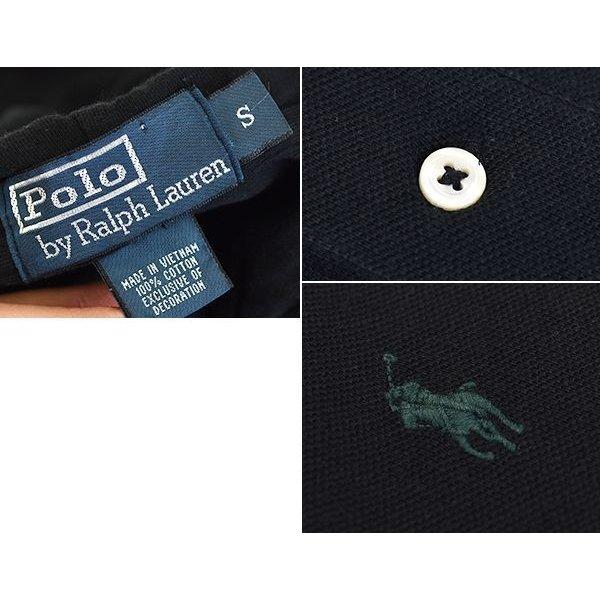 画像2: 【ラルフローレン】【POLO ralph lauren】【黒】【フード付き】【カットソー】【サイズS】