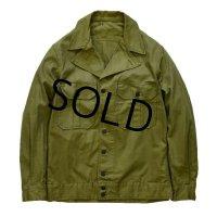 【デッドストック】40's【ビンテージ】【米軍実物】U.S.ARMY【M-42】M41 M42 HBTジャケット【38R】