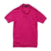 【ラルフローレン】 【POLO ralph lauren】【ピンク】【無地】【ポロシャツ】 【サイズM】